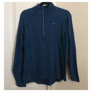 Nike FITDRY 3/4 Zip Pullover